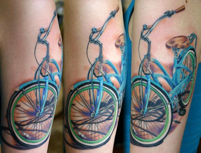 22 Tatuagens De Bicicleta