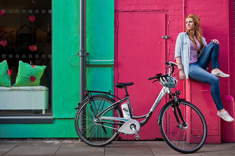 tipos de bicicleta - bicicleta elétrica