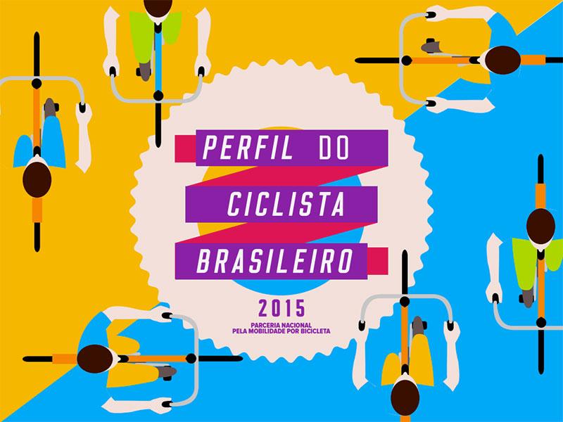 Capa do PDF da pesquisa Perfil do Ciclista Brasileiro 2015
