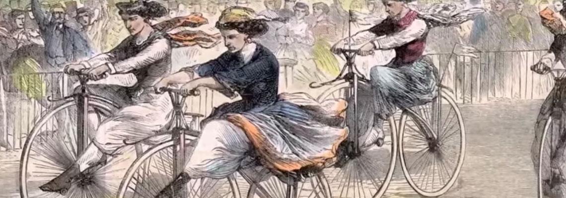 A bicicleta e a luta das mulheres por direitos iguais