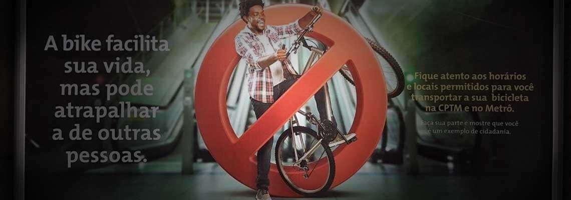 Afinal, campanha do Metrô de SP é pró ou anti-bicicletas?