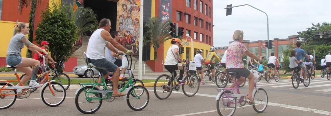 Reconhecida por suas bicicletas, Joinville quer quadruplicar faixas até 2025