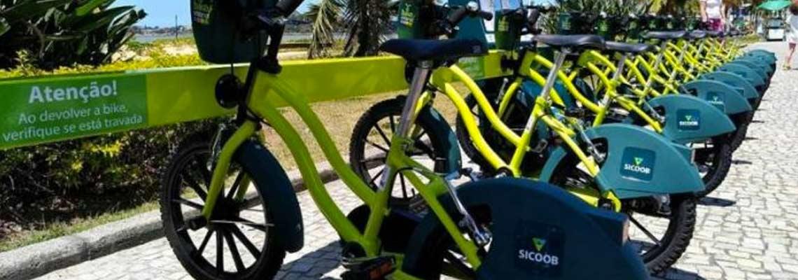 Em Vitória, bicicletas compartilhadas também são para crianças