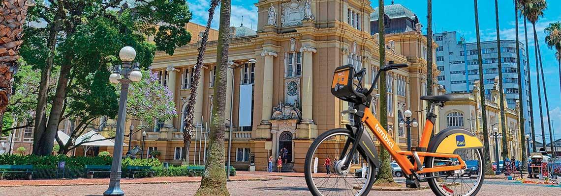 Porto Alegre implementa novo sistema de compartilhamento de bikes