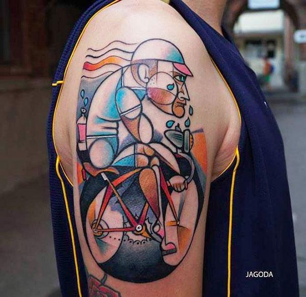 foto de tatuagem no braço