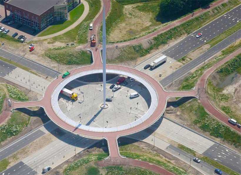 Floating Roundabout