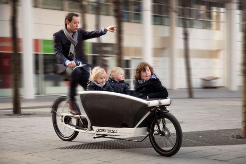 tipos de bicicleta - cargo