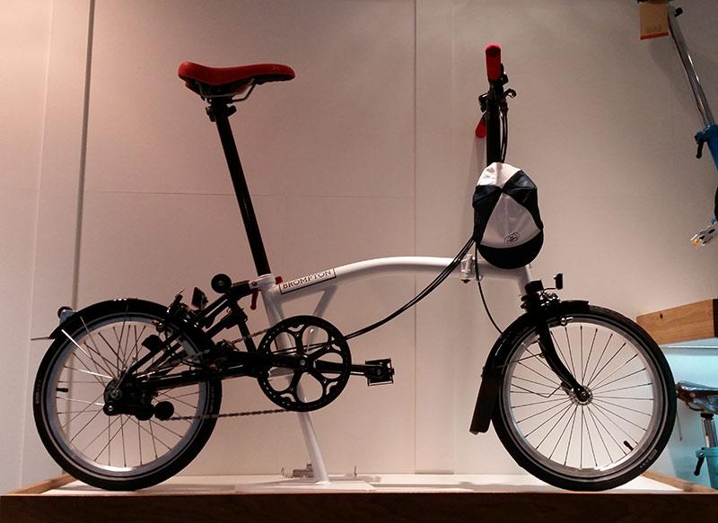 tipos de bicicleta - dobrável