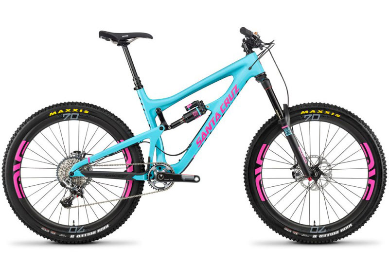 tipos de bicicleta - full suspension