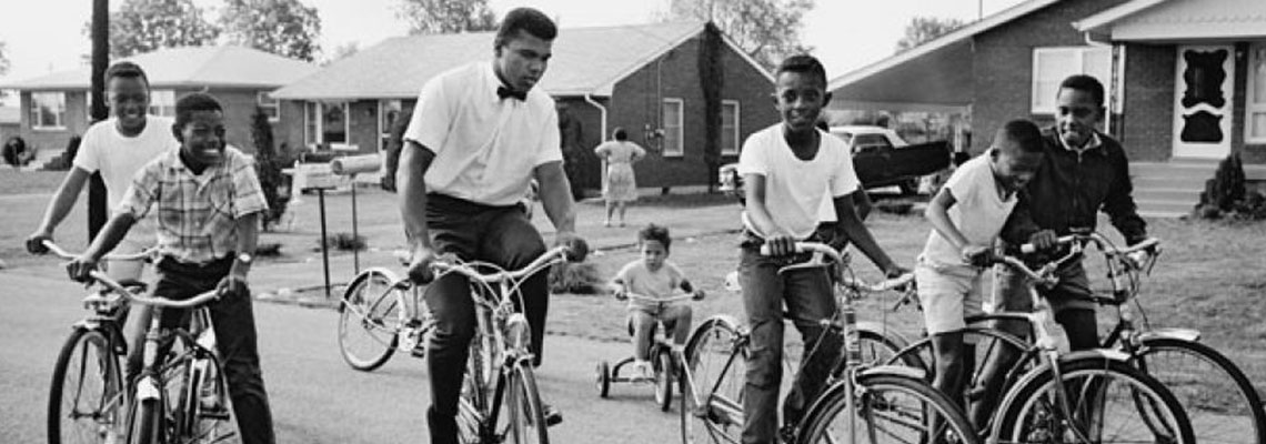 A bike que fez um menino se tornar Muhammad Ali