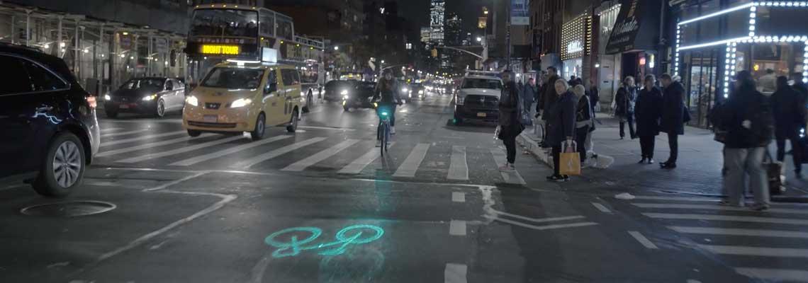 Bikes de NY receberão lasers para reduzir acidentes