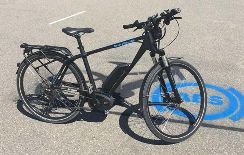 Bosch testa sistema de freios ABS em bicicletas elétricas