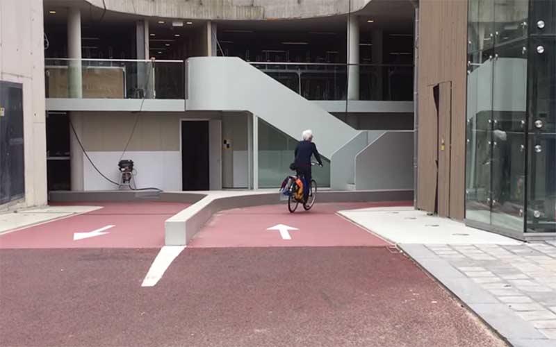 estacionamento de bicicletas em Utrecht