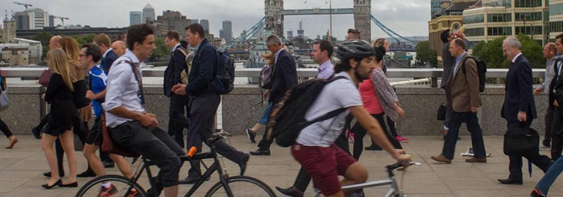 Seis vezes mais saudável: a diferença de quem vai trabalhar de bike