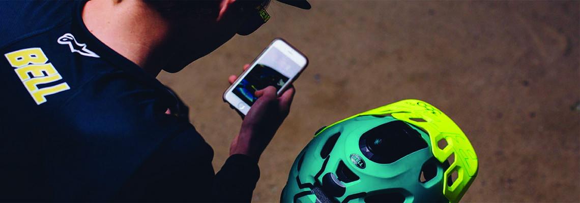 Bell faz capacete com câmera 360° que filma em 4K