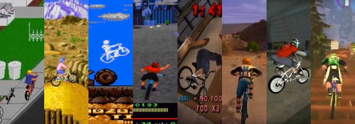 Do Atari ao Xbox: os melhores jogos de bicicleta da história!