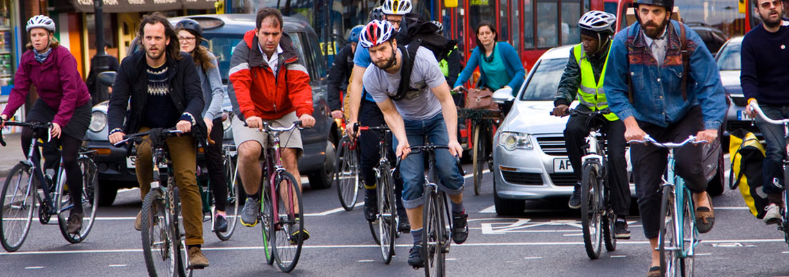 Em Londres, número de bikes nas ruas está perto de ultrapassar o de carros