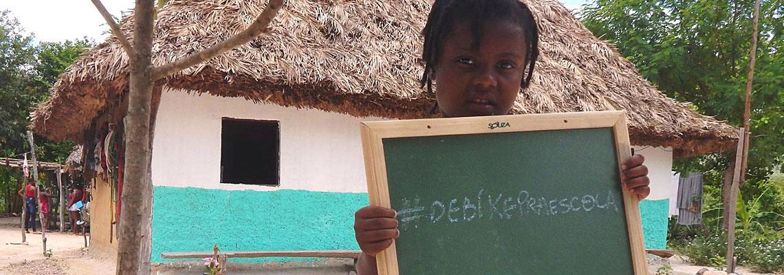 Projeto pede ajuda para dar bicicletas para crianças irem à escola