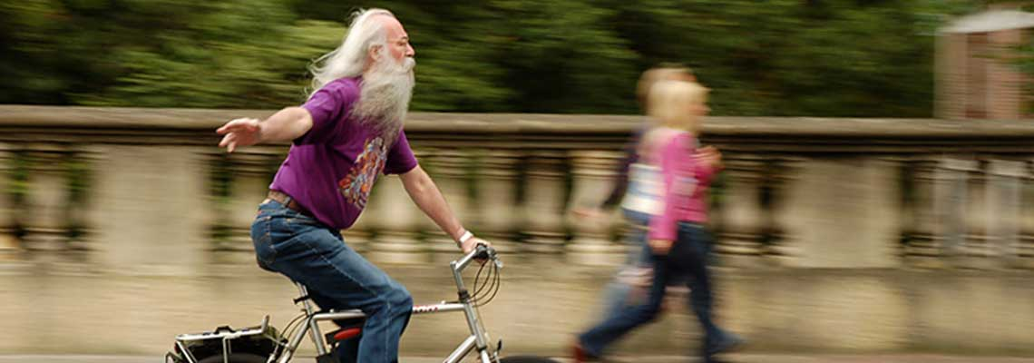 Nunca é tarde para começar a andar de bicicleta