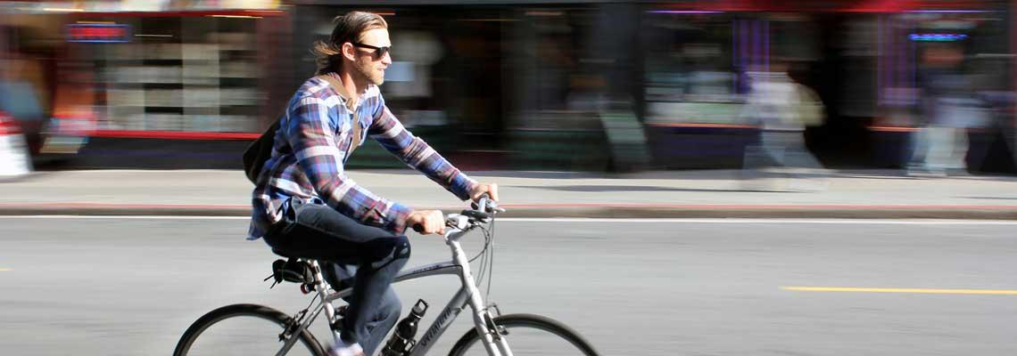 Em média, quem pedala ao trabalho é 5kg mais magro do que quem dirige