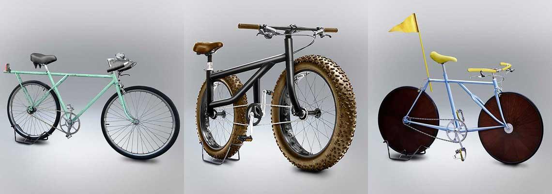 Como seriam as bicicletas se todas ideias saíssem do papel?
