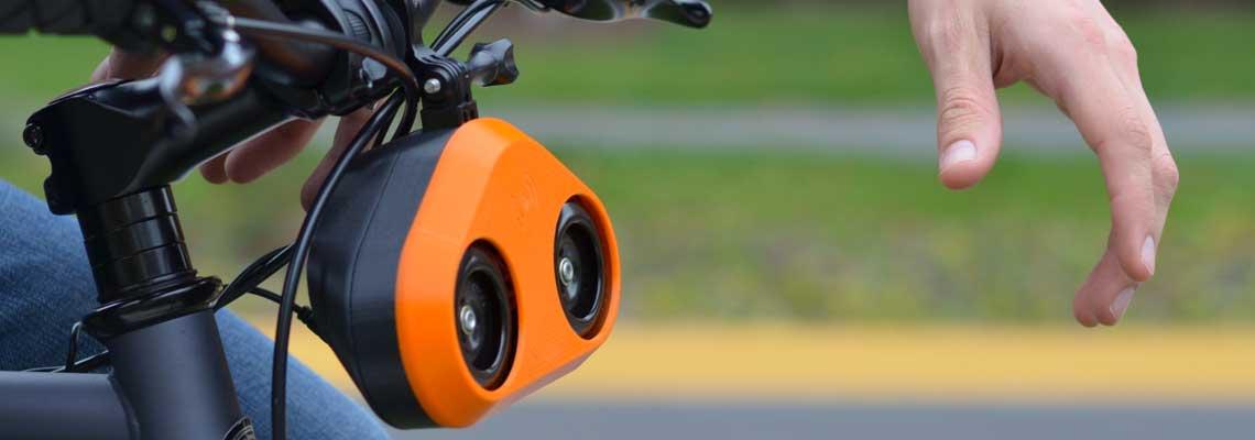 Startup lança buzina para você parecer um carro na sua bike