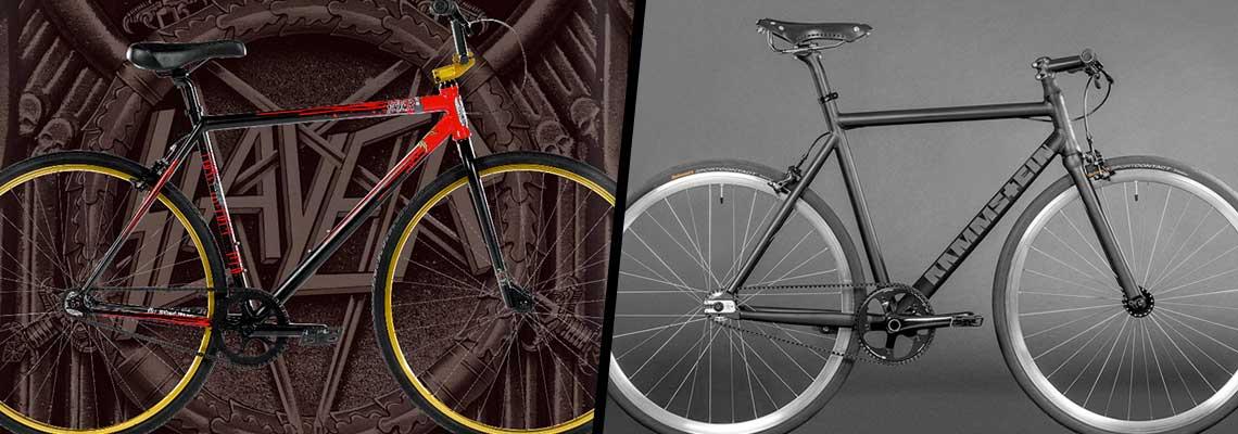Slayer e Rammstein lançam bicicletas para você detonar nas ruas