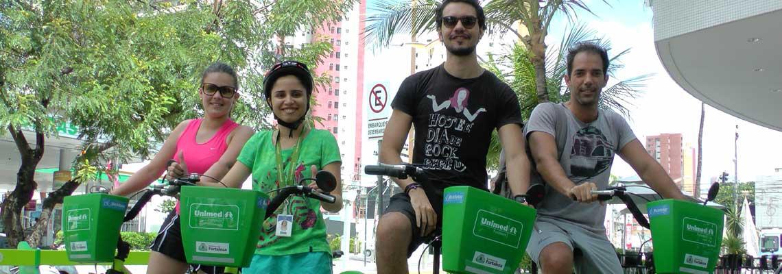 Fortaleza ultrapassa um milhão de viagens pelo Bicicletar e premia ciclistas