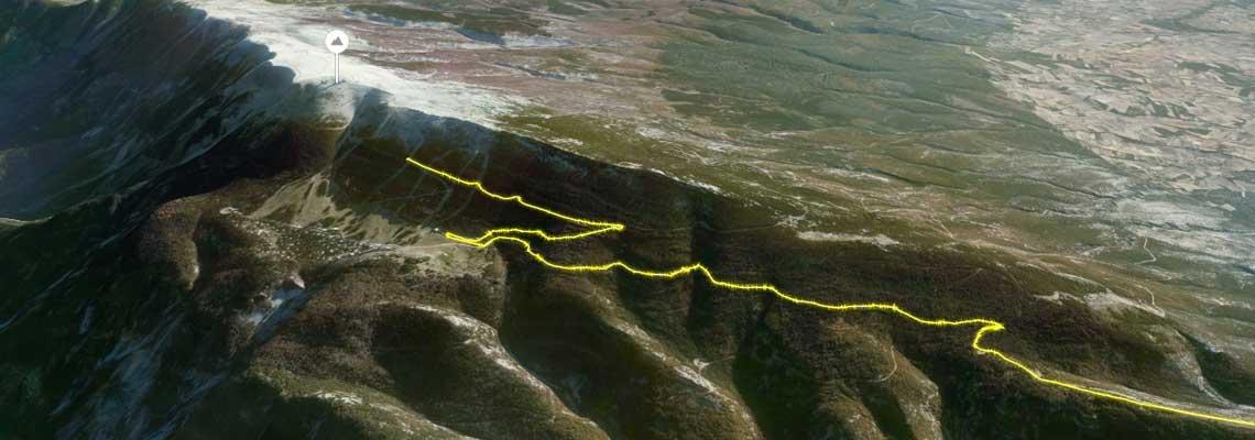 Relive: o site que usa imagens de satélite para recriar sua pedalada