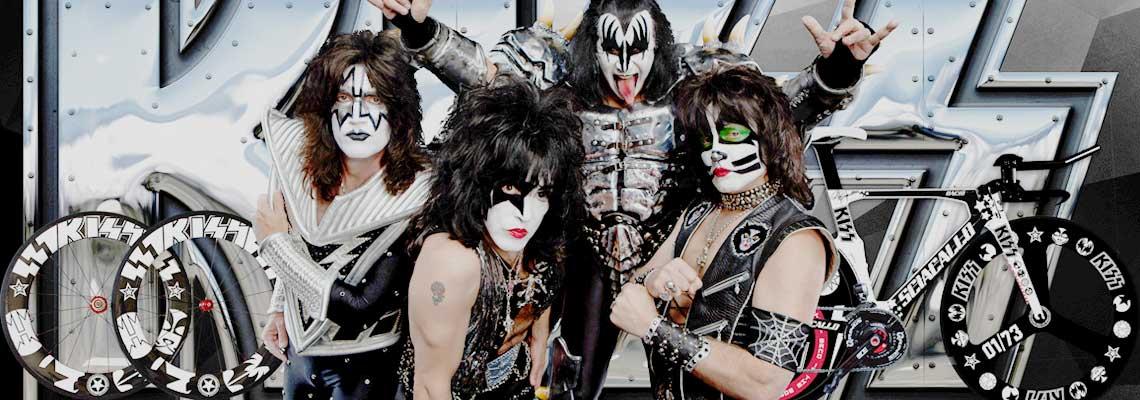 Se você é fã de Kiss, vai curtir essa bike!