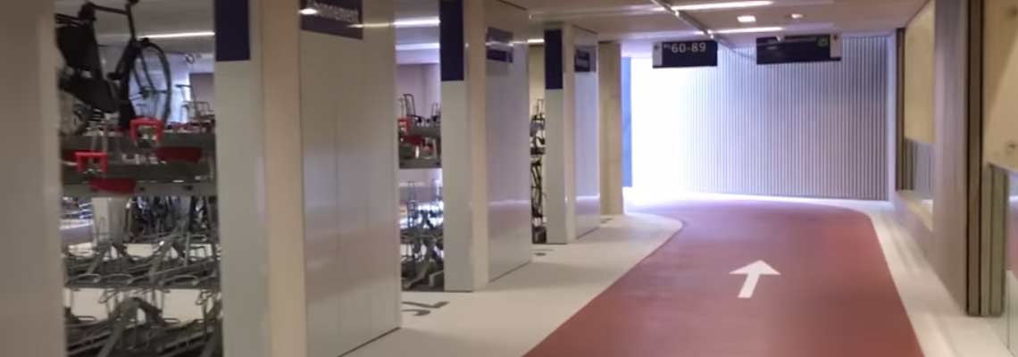 Maior estacionamento de bicicletas do mundo é inaugurado na Holanda